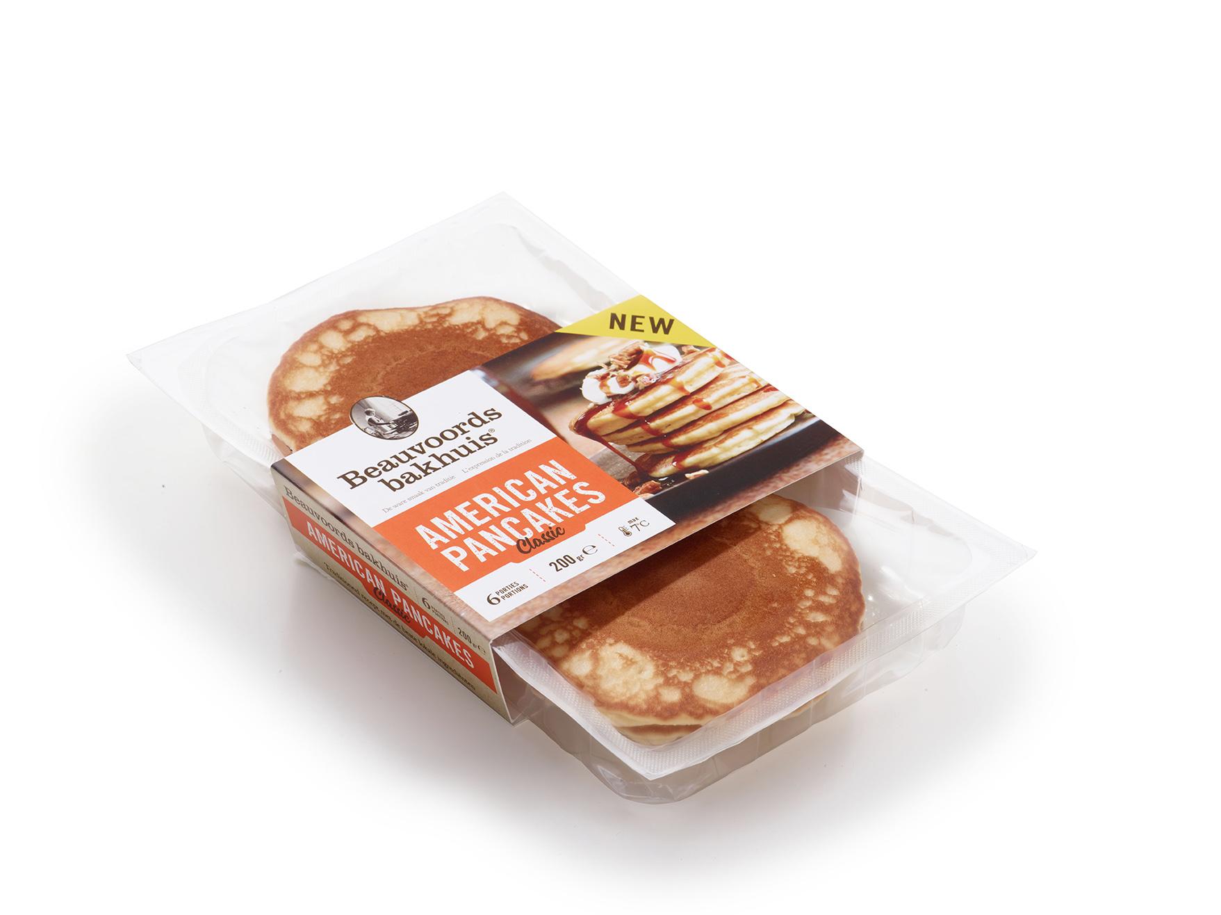 Classic american pancakes packshot - Beauvoords Bakhuis